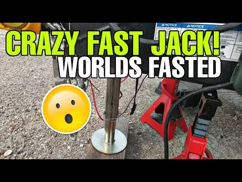 Crazy Fast And Strong Electric Tongue Jack! Check Out The New Ultra-Fab 4000 And 5500 Phoenix!
