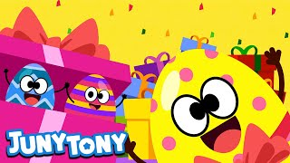 Happy Easter And More Songs| Easter Songs For Kids | Easter Eggs | JunyTony