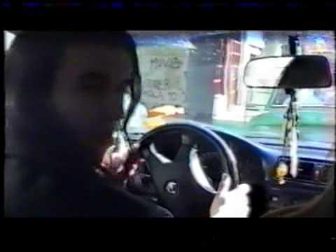 Bane Jelic Osvajaci Home Video on the way to shoot video Deci proleca 1999