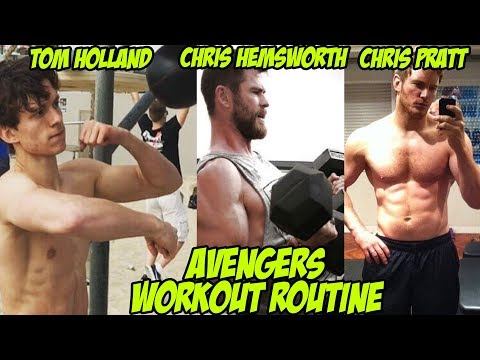 AVENGERS INFINITY WAR Cast's Workout Routine - Best Excersises of Marvel Cast