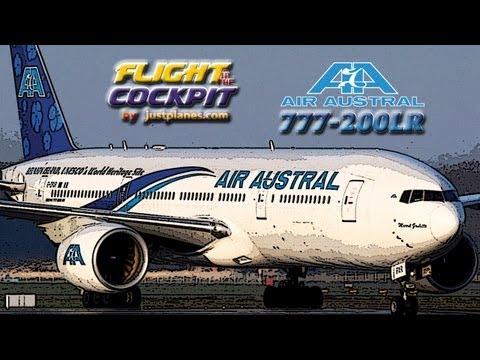 Air Austral 777-200LR (Reunion Island)