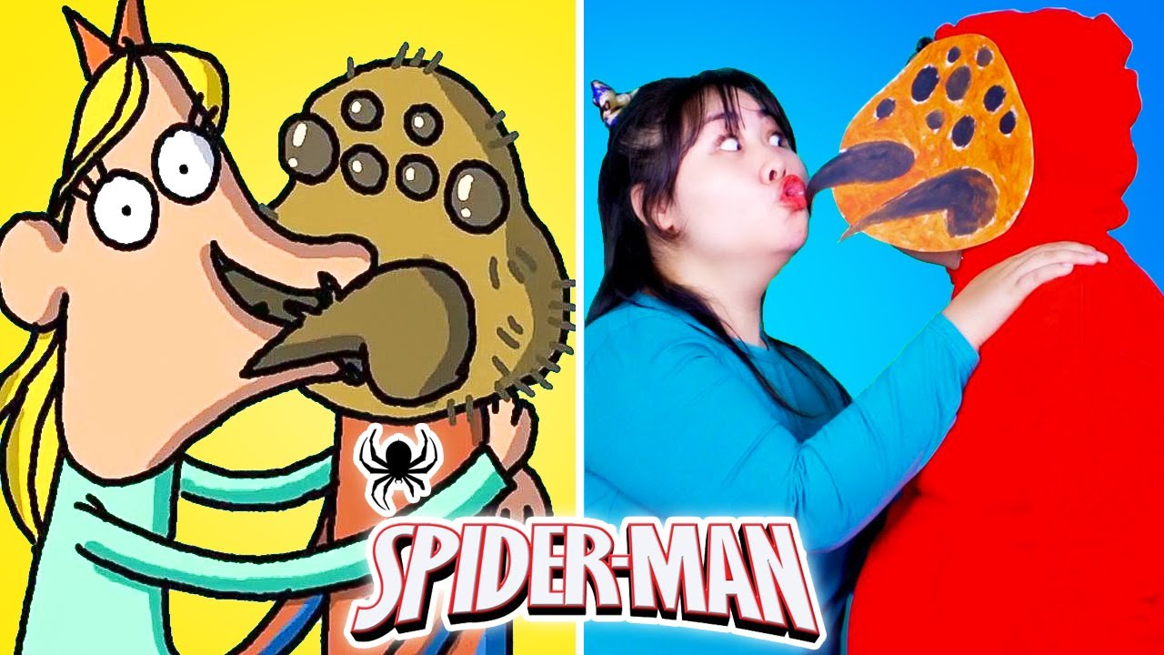 SPIDER MAN In Real Life | BEST of Cartoon Box | Hilarious Cartoon | FUNNY ANIMATED PARODY