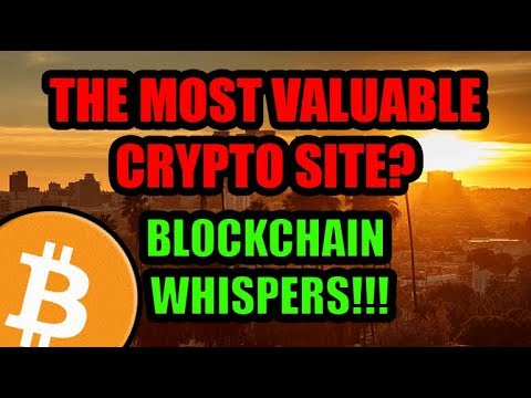 Bitcoin to 8000!?  +The Most Valuable Crypto Site On The Planet: Blockchain Whispers Paid Review!