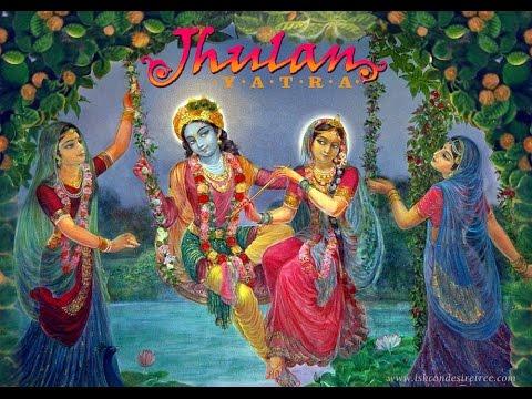 Image result for jhulan yatra