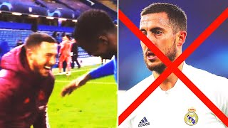 REAL WILL SELL HAZARD FOR HIS REACTION AFTER THE MATCH WITH CHELSEA! Hazard's post-defeat behavior!