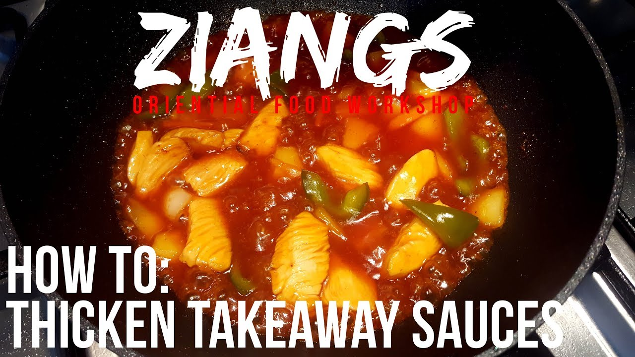 How To Thicken Chinese Takeaway Sauces Sweet And Sour Chicken