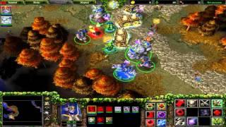 WarCraft 3 TFT Кампания Ночных эльфов, глава 6 - Осколки Альянса