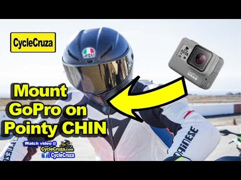 How To Install GoPro on Helmet Chin Thats POINTY