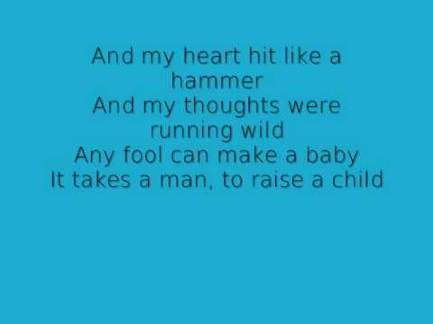 It Takes A Man Aaron Lines Lyrics
