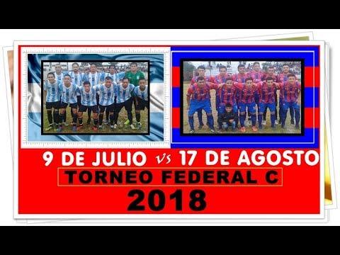 17  de Agosto (1)  vs   9 de Julio (2)