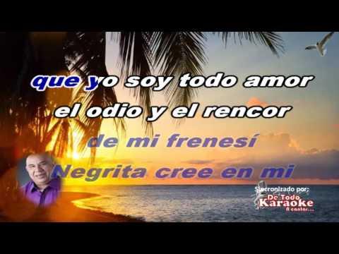 Karaoke Argenis con Super Combo Los Tropicales Cree en Mi