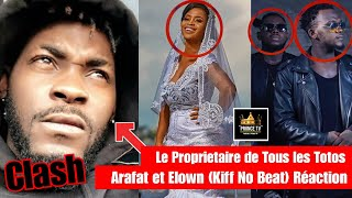 vuclip CLASH DJ ARAFAT VS Elow'n KIFF NO BEAT (Réaction) PRIINCE TV