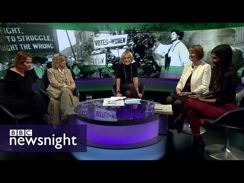 Feminist achievements and shortfalls: DISCUSSION – BBC Newsnight
