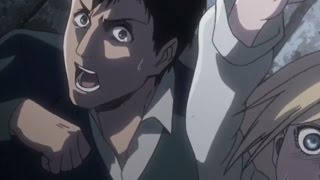 Bertolt Was About To Bite His Hand When The Tower Collapsed- Attack on Titan Episode 30 thumbnail
