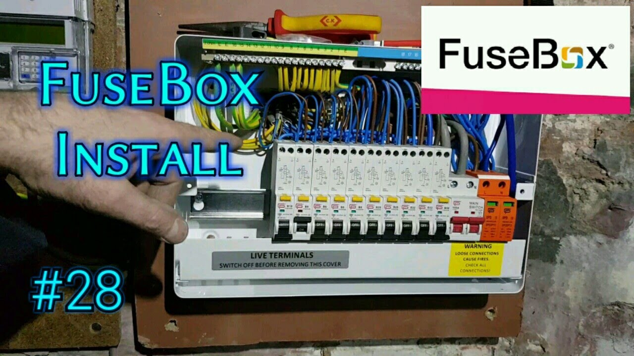 FuseBox Install with SPD. - YouTube  YouTube