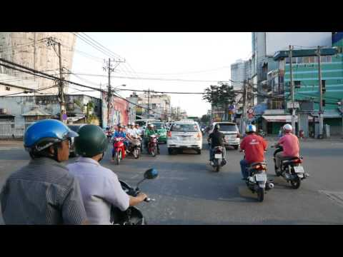 Uber Saigon, Binh Thanh To Crescent Mall