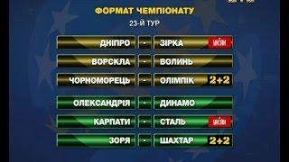 Закінчився перший етап чемпіонату України  всі результати