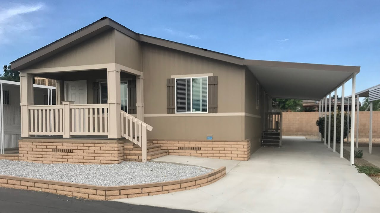 Caravana Mobile Estates Space 29 Brand New Manufactured Home For Sale San Jacinto Hemet Ca