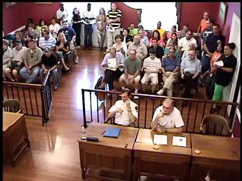 July 13, 2009 Bristol Borough Council Meeting