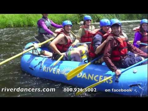 Rafting the Upper Klamath with River Dancers