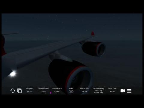 Infinite Flight|Aberdeen-Abu Dhabi