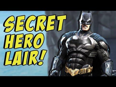 Fortnite SECRET Super Hero Lair! - NEW Season 4 Underground Lair!