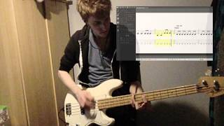 Bleed American - Jimmy Eat World - Bass Cover with Tabs
