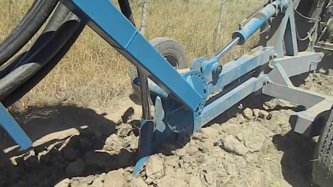 Enterradora de mangueras para aguadas youtube - Manguera de goteo ...