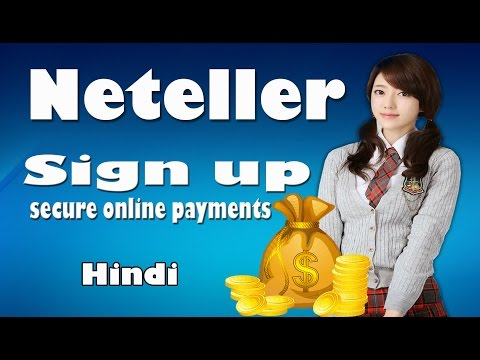 How to make and verify  account on netellaer in hindi   verify neteller account in hindi
