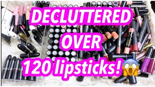 MAC LIPSTICK COLLECTION & DECLUTTER
