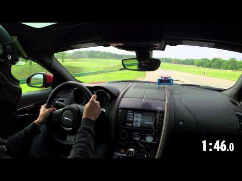 2014 Lightning Lap: Jaguar F-type R Coupe