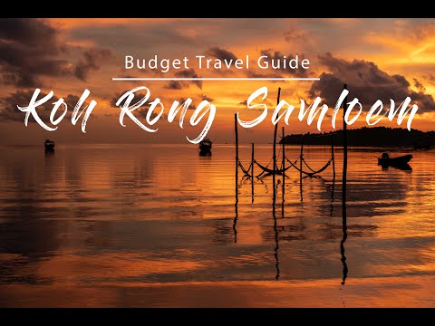 Koh Rong Samloem, Cambodia | Budget Travel Hacks | Travel vlog| Top Things to do