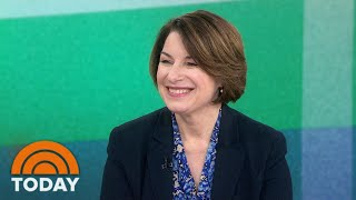 Amy Klobuchar Rejects Idea That Moderate Dems Are Trying To Crush Sanders   TODAY