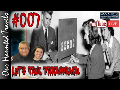 VIEWERS ESP TESTING and Hangout (LIVE) | Let's Talk Paranormal 007 | Our Haunted Travels