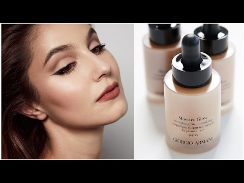 Armani Maestro GLOW Foundation First Impressions Review | Karima McKimmie