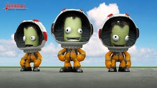 Прохождение Kerbal Space Program v.24 - Часть 1