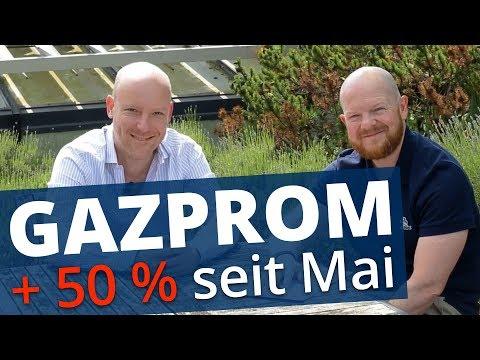 Gazprom Aktie: Warum jetzt alle die Aktie wollen | Interview mit Swen Lorenz
