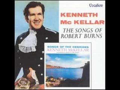 Afton water - sung by Ken McKellar