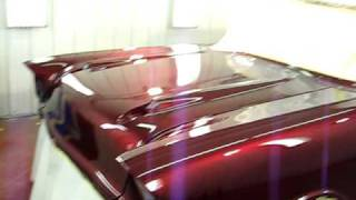 Kandy Paint,  1957 Chevy,  House Of Kolor,  Brandy wine Candy, Kandy Paint