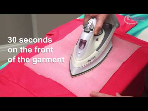 How to Iron on rhinestone transfers