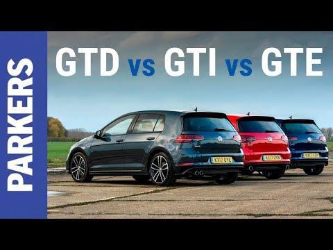 VW Golf | GTI vs GTD vs GTE