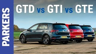 VW Golf | GTI vs GTD vs GTE