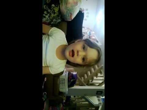 Adelyn sings