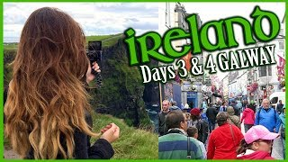 Ireland Travel Vlog | Day 2 & 3 GALWAY (Cliffs of Moher, McDonald Tasting, Driving & Oysters)