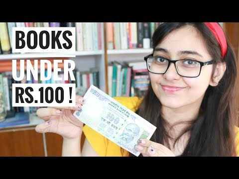 Top 10 Books Under Rs. 100    Cheapest Books You Can Buy Now!