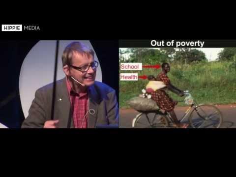 Hans Rosling, Prof. Karolinska Institute & Edutainer at Gapminder.org