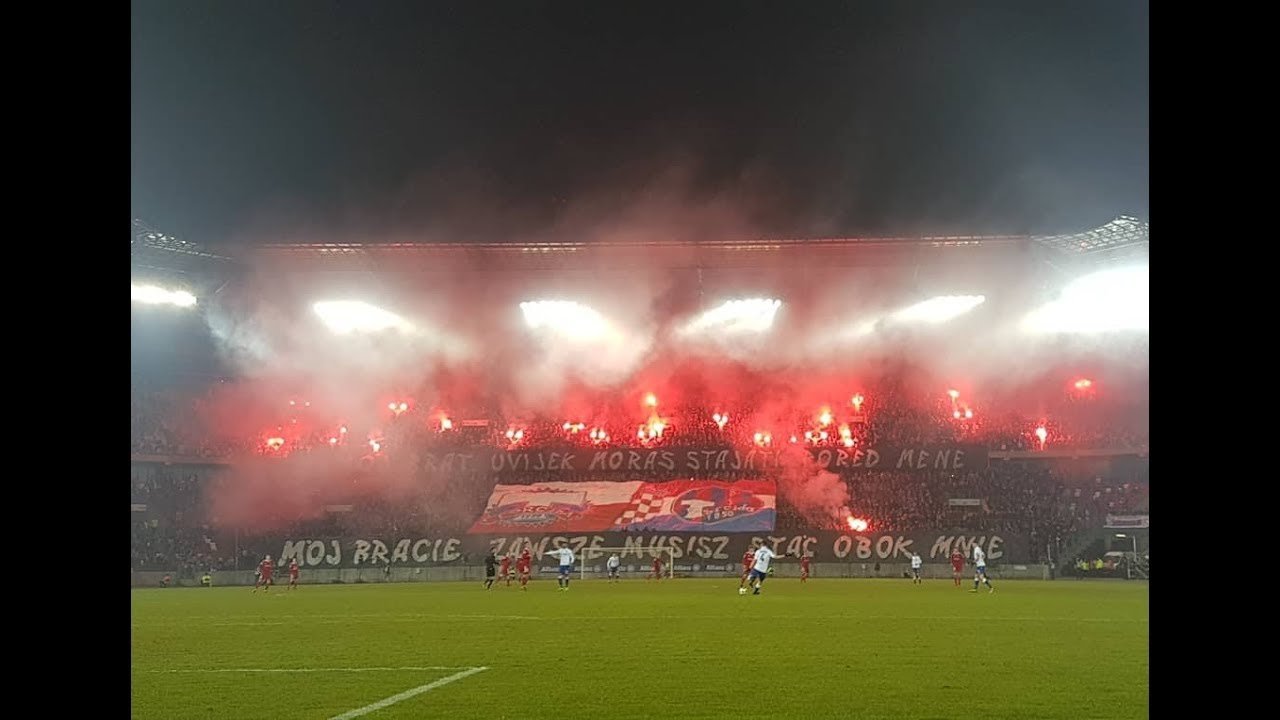 Gornik Zabrze: Hajduk Split [Górnik Fans]. 2018-03-24