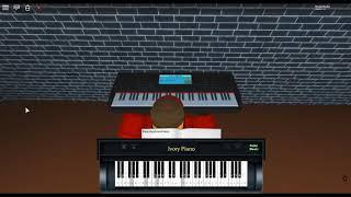 Rolling Girl - Hatsune Miku by: Genjitsutouhi-P on a ROBLOX piano.