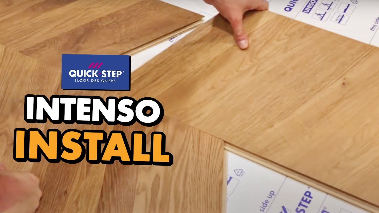 Quick Step Intenso Installation You, How To Lay Laminate Flooring Quick Step
