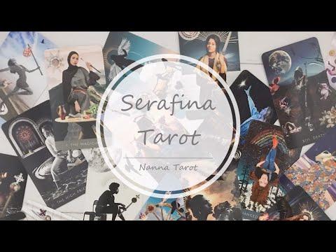 開箱  塞拉菲娜塔羅牌 • Serafina Tarot // Nanna Tarot